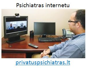 psichologas ir psichiatras internetu, skype, online